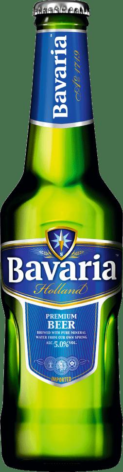 Bavaria premium beer bottle 33 cl